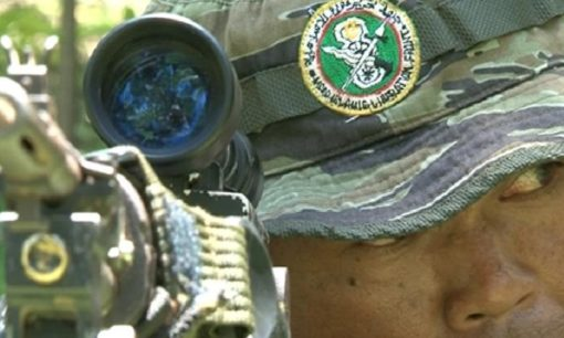 Close up photo of MILF fighter. © Centre for Humanitarian Dialogue