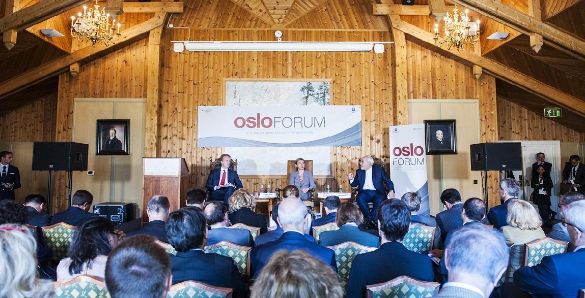 Oslo Forum Webpage