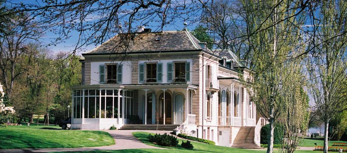 Villa Plantamour, Siège de HD