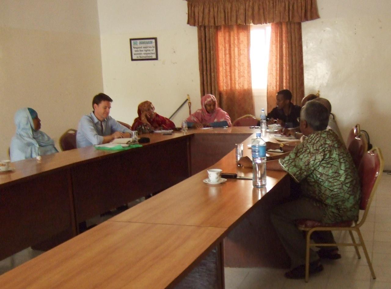 Somaliland mediator training