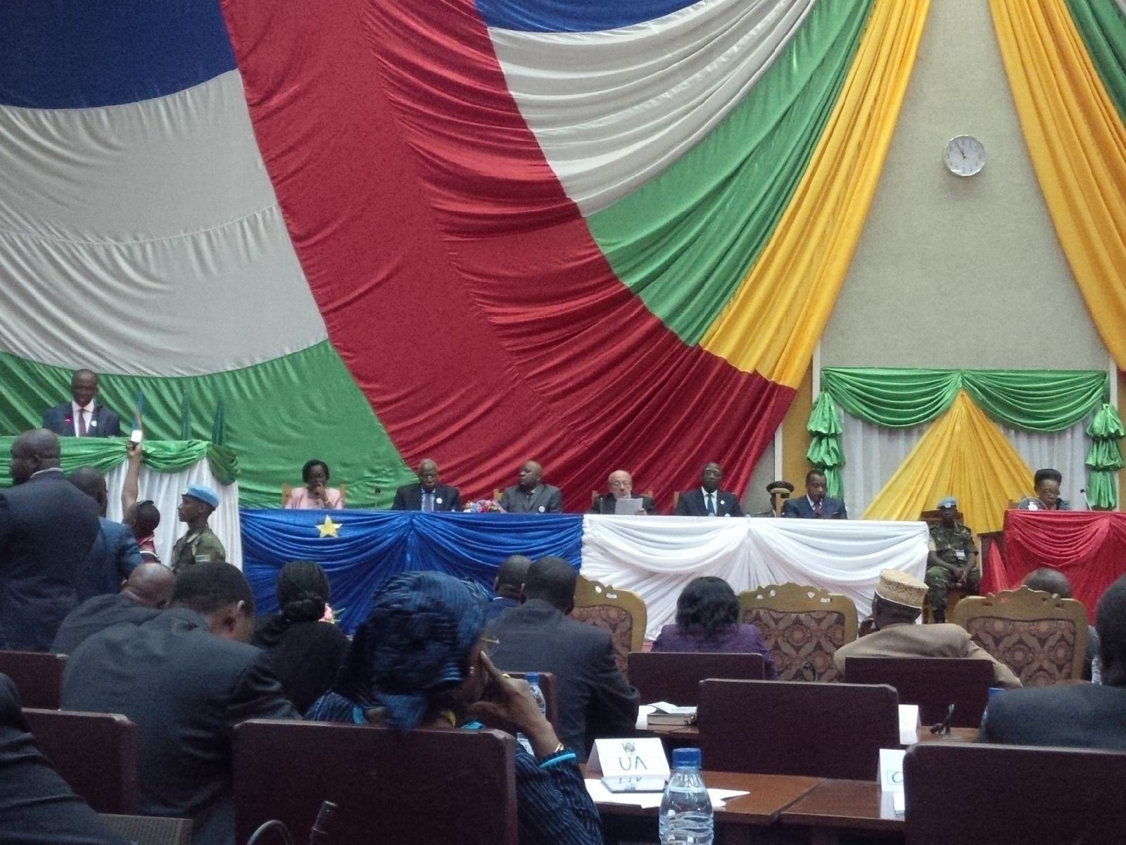 Bangui Forum - closing ceremony 11 May 2015